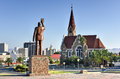 Christ church windhoek namibia christuskirche famous lutheran landmark in Royalty Free Stock Image