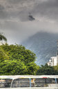 Christ in the clouds redeemer rio de janeiro brazil Royalty Free Stock Photography