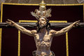 Christ of the forgiveness in parish church santa cruz cadiz spain Stock Image