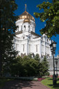 Christ savior cathedral main cathedral russian orthodox church moscow Stock Photography