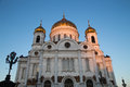 Christ the savior cathedral moscow russia Royalty Free Stock Photography