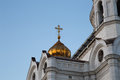 Christ the savior cathedral moscow russia Stock Images