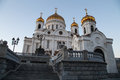Christ the savior cathedral moscow russia Royalty Free Stock Images