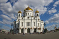 Christ The Saviour church in Moscow Stock Photo