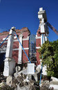 Christchurch Earthquake - Baptist Church in Ruins Royalty Free Stock Photography