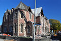 Christchurch Earthquake - Old Girls High School Royalty Free Stock Photography