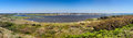 Christchurch Harbour Panorama Royalty Free Stock Image