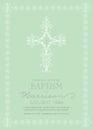 Christening, Baptism, First Communion, Confirmation Invitation template