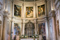 Incredible interior of a Medieval christian church