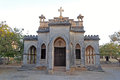Christian church in porbandar protestant gujarat Royalty Free Stock Photo