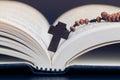 Cruzar en santo Biblia libro como bueno Viernes o pascua