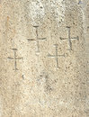 Christian cross symbols texture Royalty Free Stock Images
