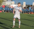 Christian dean defender for the vancouver whitecaps at kino sports complex Royalty Free Stock Photos