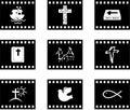 Christian film Stock Image