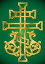 Christian Holy cross with ornament Royalty Free Stock Photos