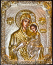 Christian icon-detail Royalty Free Stock Photo