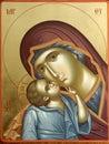 Christian icon-detail Royalty Free Stock Photos