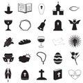 Christian icons collection Imagen de archivo libre de regalías