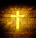 Christian religious cross Royalty Free Stock Photo