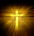 Christian religious cross Royalty Free Stock Photo
