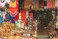 Christian symbols in the Jerusalem east market Stock Photography
