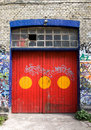 Christiania Door Stock Images
