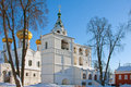 Christianity  cathedral in Russia, Kostroma city, Ipatievsky monastery Stock Photography