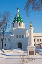 Christianity  cathedral in Russia, Kostroma, Ipatievsky monastery Stock Photos