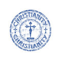 Christianity rubber stamp Stock Photography