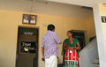Christians in india couple of front of sacristy mahabalipuram tailnadu Royalty Free Stock Photo