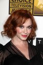 Christina Hendricks at the Second Annual Critics' Choice Television Awards, Beverly Hilton, Beverly Hills, CA 06-18-12 Royalty Free Stock Image
