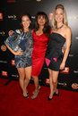 Christina Moore,Suleka Mathew,Vanessa Lengies Royalty Free Stock Photo