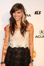 Christina perri los angeles feb arrives at the muiscares gala honoring barbra streisand at convention center on february in los Stock Images