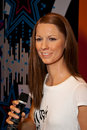 Christina Stuermer Wax Figure Royalty-vrije Stock Fotografie