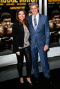 Christine buffer michael buffer new york dec announcer and wife attend the world premiere of grudge match at the ziegfeld theatre Stock Images