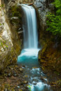 Royalty Free Stock Photo Christine Falls, Mount Rainier National Park