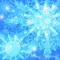 Christmas abstract blue background holiday greeting card Stock Image