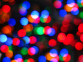 Christmas abstract lights Stock Photography