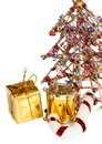 Christmas accessories Royalty Free Stock Photos