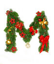 Christmas Alphabet Letter M Royalty Free Stock Photos