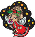 Christmas Angel 6 Stock Images