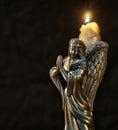 Christmas Angel Candle