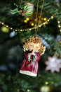 Christmas angel decoration Royalty Free Stock Photos