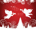 Christmas Angels. Royalty Free Stock Photo