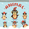 Christmas Animals Collection Set