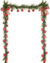 Christmas Apple Border Royalty Free Stock Image