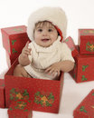 Christmas baby Stock Photo