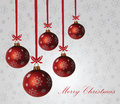 Christmas background baubles merry holiday Stock Photography