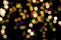 Christmas background of blurred lights Royalty Free Stock Photos