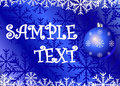 Christmas background.cdr Royalty Free Stock Photography